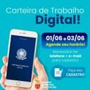 A Câmara Municipal de Tibau do Sul, através do seu Presidente Josué Gomes de Moura Júnior (Mourinha), estará disponibilizando suas dependências para Emissão de Carteira de Trabalho digital
